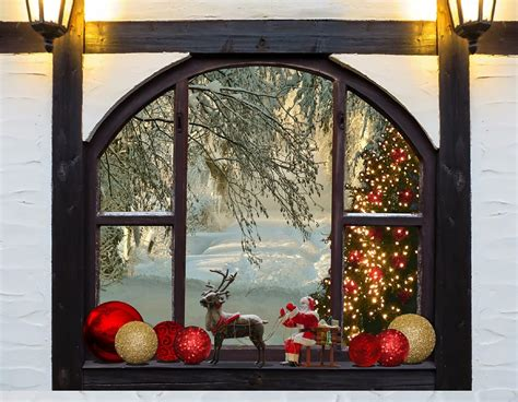 free photo christmas christmas tree window free image