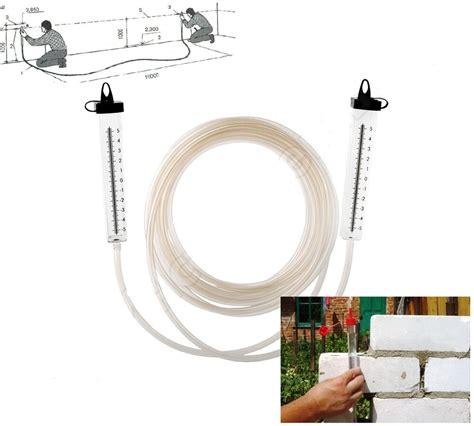 level measure water leveler hose level  building