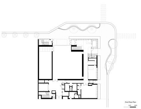 fort cbell housing floor plans gallery of aspen art museum shigeru ban architects 35