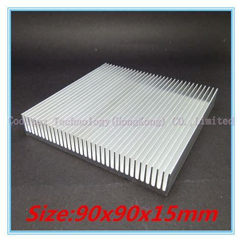Promo Heat Sink Aluminium Radiator Cooling Pendingin 11 X 11 X 5 high quality 90x90x15mm radiator aluminum heatsink