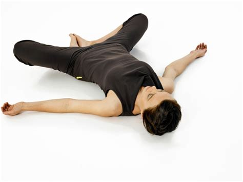 Reclined Bound Angle Pose by 6 Best Poses For Fertility Minding Matters