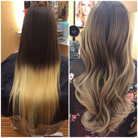 color correction for light brown hair that turned into orange color correction box ombre fail to totally fab modern