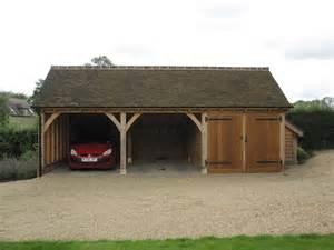 2 Bay Garage 3 Bay Garage Draycote Shires Oak Buildings