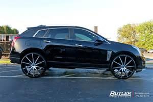 Custom Cadillac Srx Cadillac Srx Custom Wheels Lexani Css15 26x Et Tire