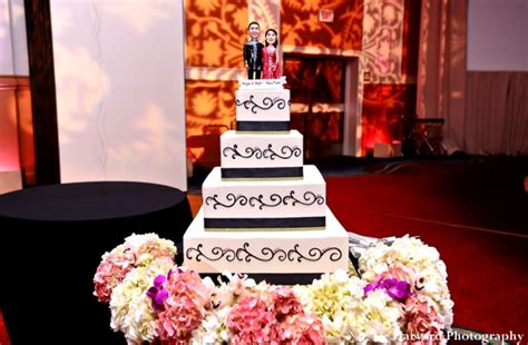 Wedding Reception Cakes by Contemporary Indian Wedding Reception By Harvard