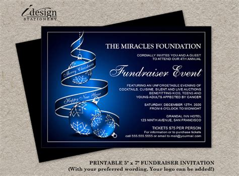 fundraiser invitation card templates 14 fundraising invitation templates free premium