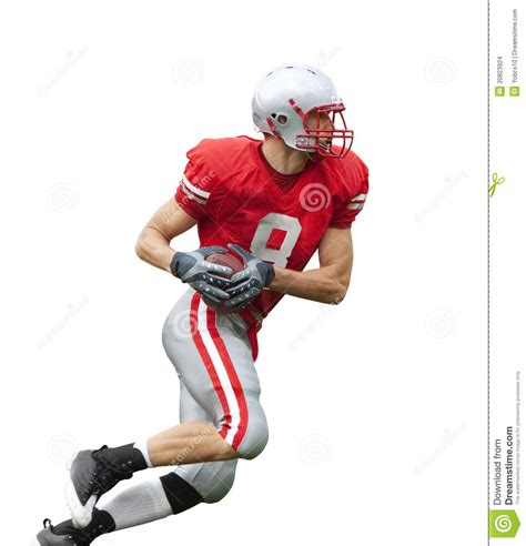 section 5 talks back football football player isolated stock images image 20823924