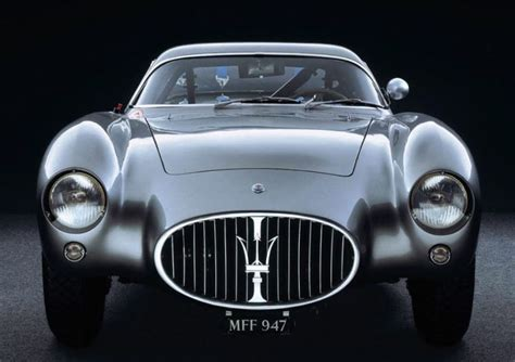Back To Black 1954 Maserati A6g Cs Berlinetta Fashion