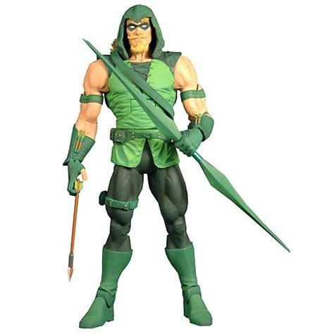 Dcuc Arrow dc universe classics green arrow hooded figure