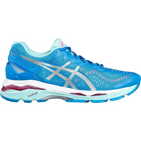 canada running shoes asics womens gel kayano 23 running shoes blue aqua