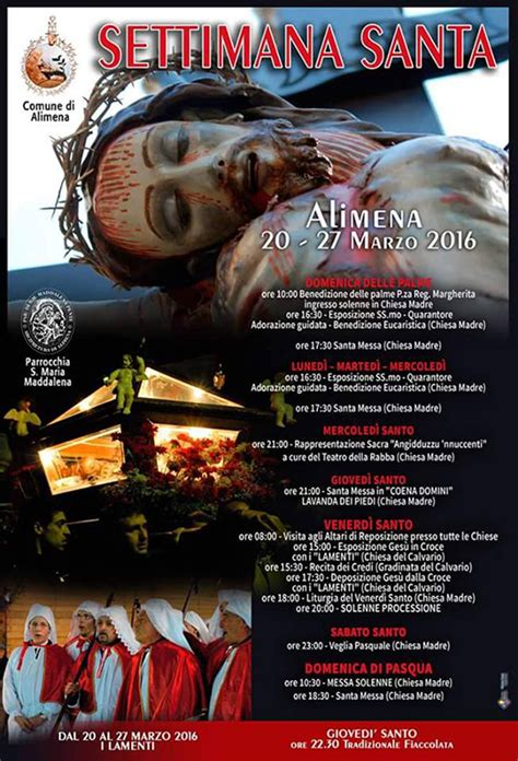 pasqua ad alimena 2016 programma pasqua ad alimena 2016 programma della settimana santa