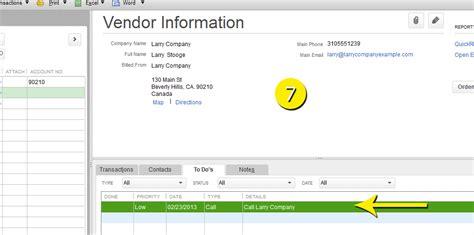 quickbooks tutorial lessons free quickbooks tutorials edit vendors information in