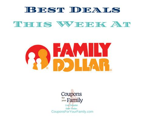 Family Dollar Printable Coupons
