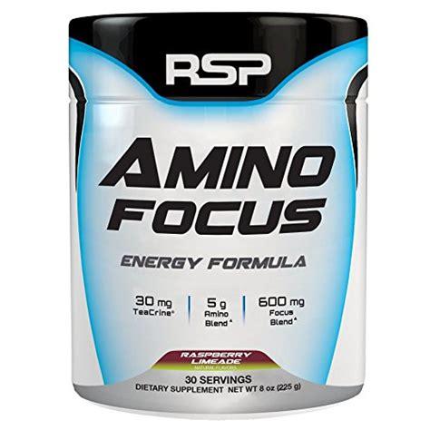 Rsp Amino Lean 30srvg rsp aminofocus energy focus formula bcaa powder with