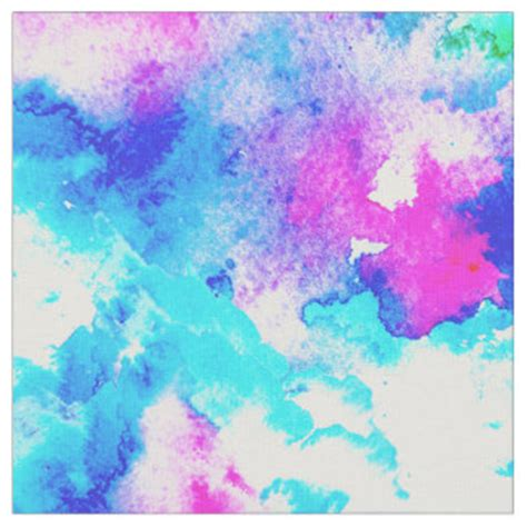 hand painted upholstery fabric abstract watercolor fabric zazzle
