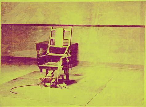 sedia elettrica andy warhol andy warhol electric chair 1967 artsy