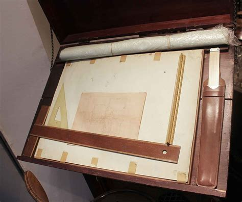 drafting table tools early 1900s drafting table with tools olde things