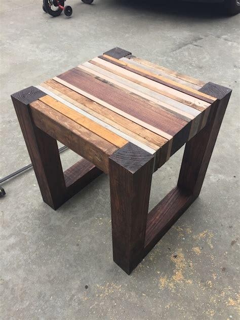 Scrap Wood Side Table { Free DIY Tutorial } Rogue Engineer