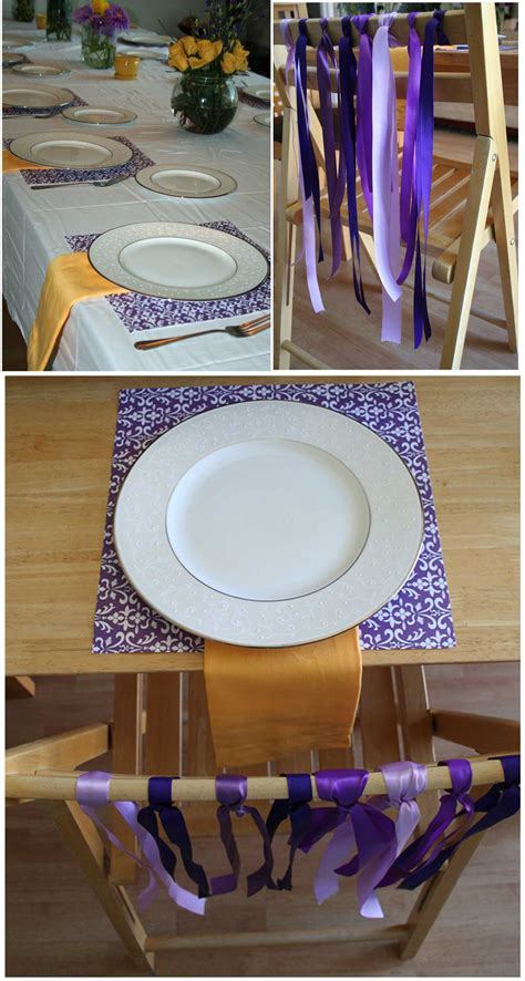 30th birthday dinner ideas purple yellow dinner thoughtfully simple