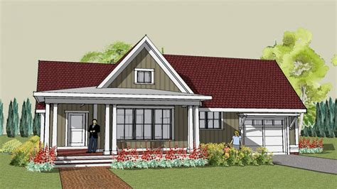 small  bedroom house plans simple cottage house plans