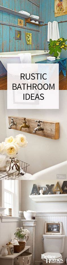 bathroom decorating ideas pinterest to inspire you 1000 ideas about small rustic bathrooms on pinterest