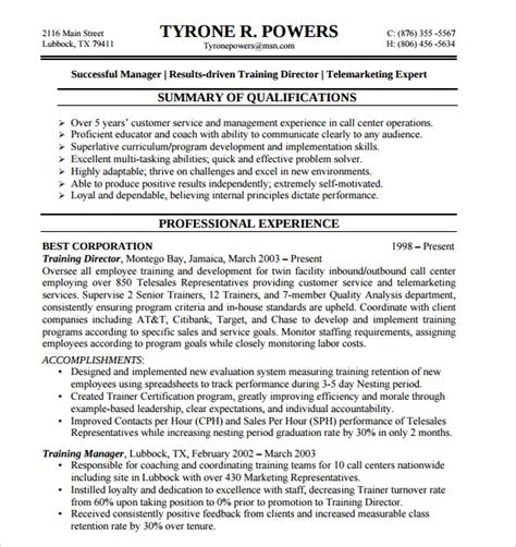 Resume Objective For Customer Service by 10 Customer Service Representative Resume Templates To