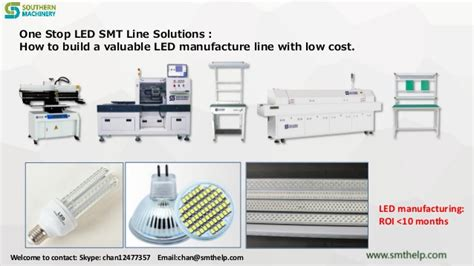 How To Build A Led L by S 320 One Stop Led Smt Line Solutions