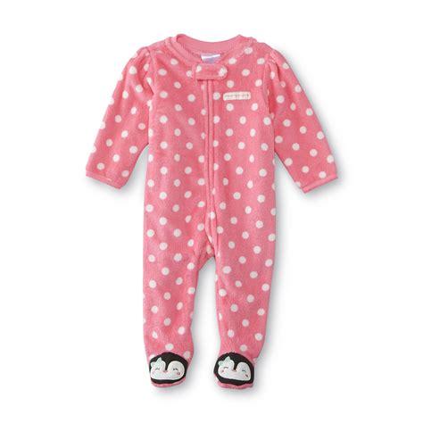 small wonders newborn s fleece sleeper pajamas