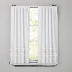 White Out Curtains Curtains White Ruffle Curtain Panels The Land Of Nod