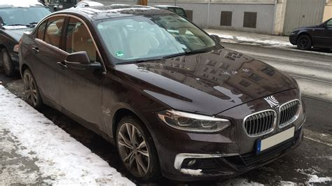 bmw 1 series sedan spotted on in munich coming to