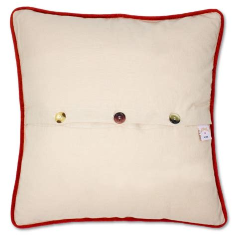 south pole embroidered pillow by catstudio