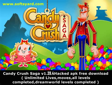 crush saga hack apk free crush v1 43 1 unlimited and hacked apk softsyard get everything