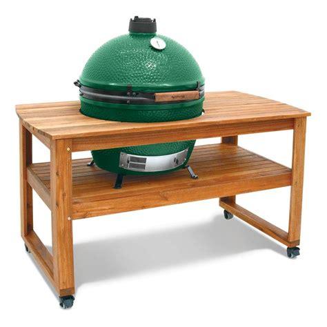 buy big green egg table big green egg solid acacia hardwood table for xlarge egg