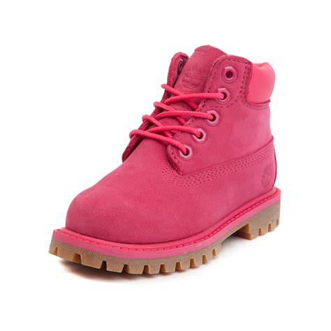 timberland boat shoes toddler toddler timberland 6 boot pink 99531684