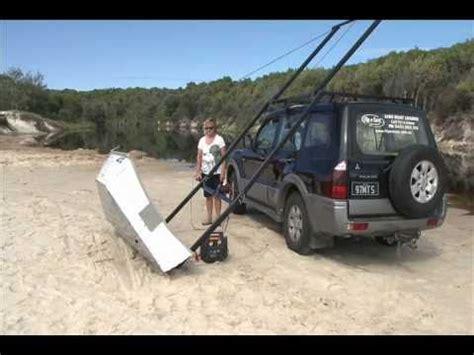 boat loader using car winch yact context diy yakima boat loader