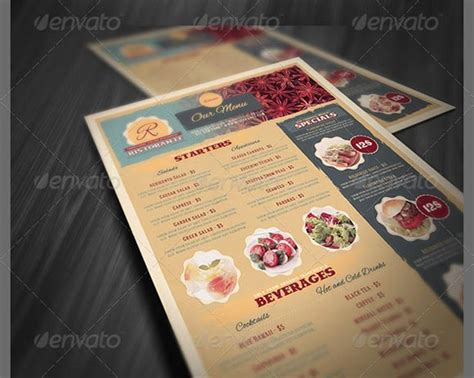 menu design ideas template beautiful restaurant menu templates and designs design