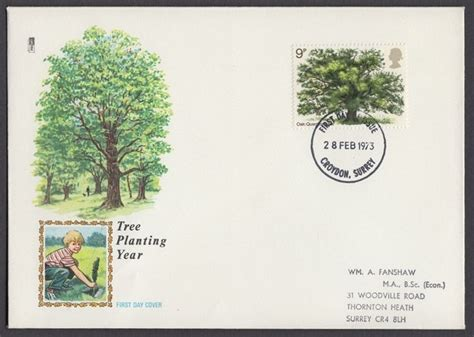 Great Britain Country Cricket 1973 Fd Cover great britain 1973 commemoratives year unit fdc