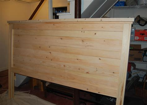 build a headboard ana white sarah s reclaimed headboard in king diy projects