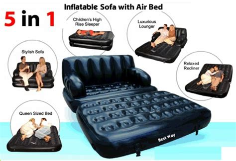 Kursi Angin Intex air sofa bed 5in1 kasur angin bestway kursi santai panjang