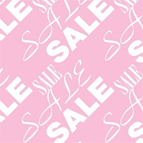 Pink For Sale by Pink Sale Background Vector Free