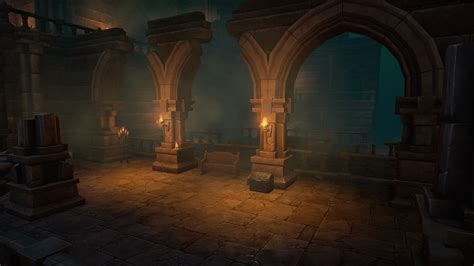 dungeon si鑒e multistory dungeons by mana station in environments ue4