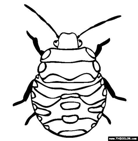 Stink Bug Coloring Page stink bug coloring page free stink bug coloring