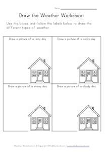 weather worksheet our english site