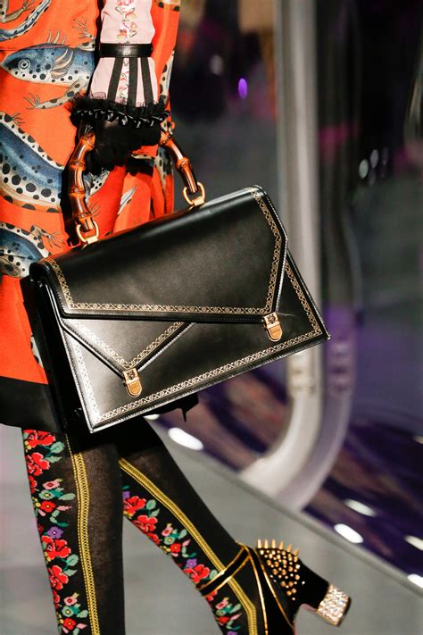 Gucci Handbags Top 10 From Winter Collection by Gucci Fall Winter 2017 Runway Bag Collection Spotted Fashion