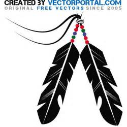 Indian feather stock vector download at vectorportal