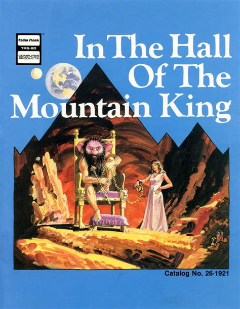 the mountain king in the hall of the mountain king for trs 80 1983 mobygames