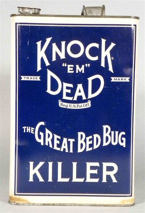 knock em dead bed bug killer tin