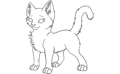 warrior cat free coloring pages