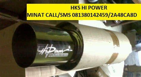 Knalpot Racing Mobil Hks Hi Power Pelangi juragan knalpot replika hks hi power