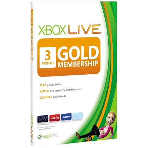 wholesale xbox live membership cards x360
